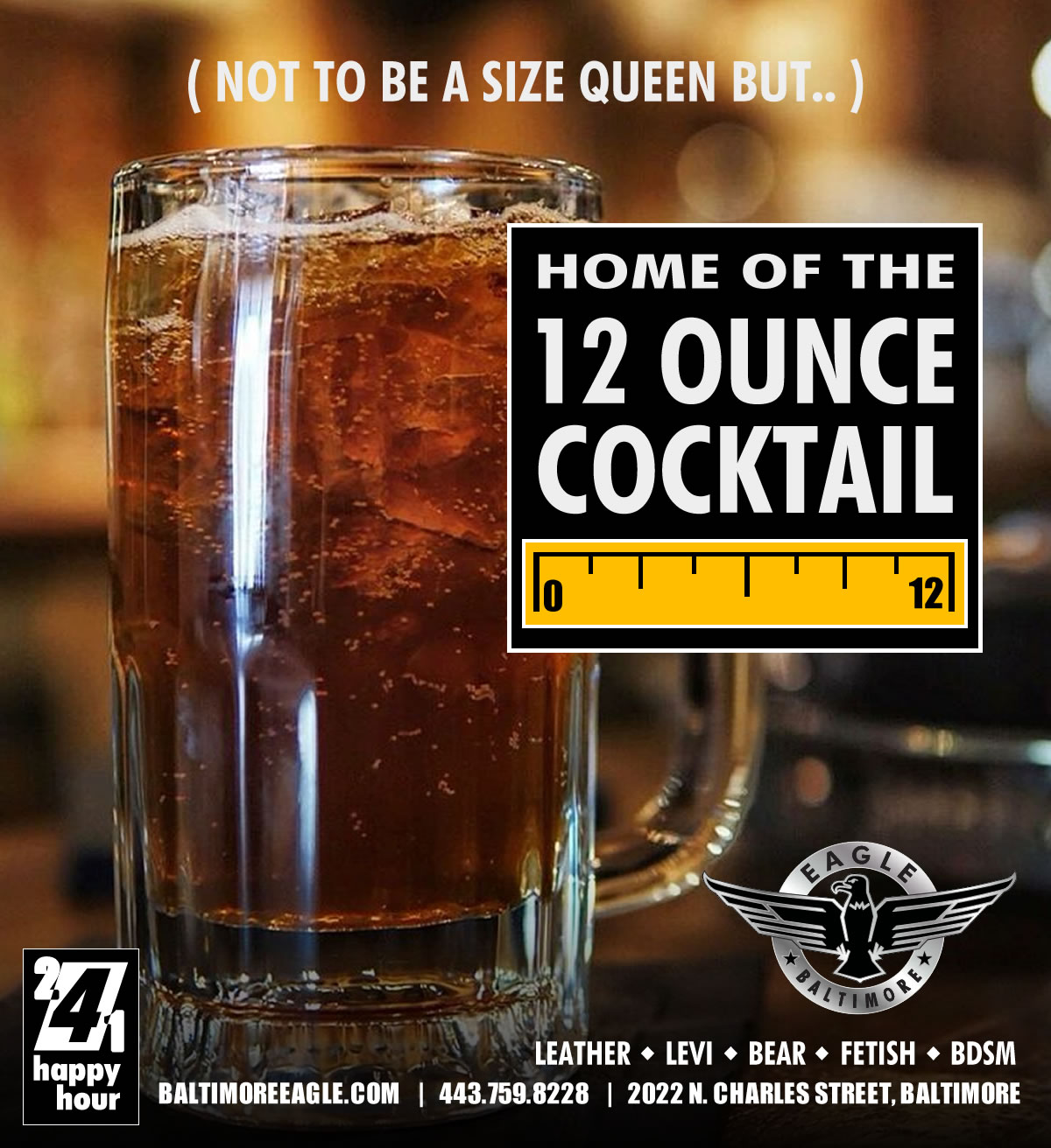 12oz COCKtails - Not to be a size queen or anything..