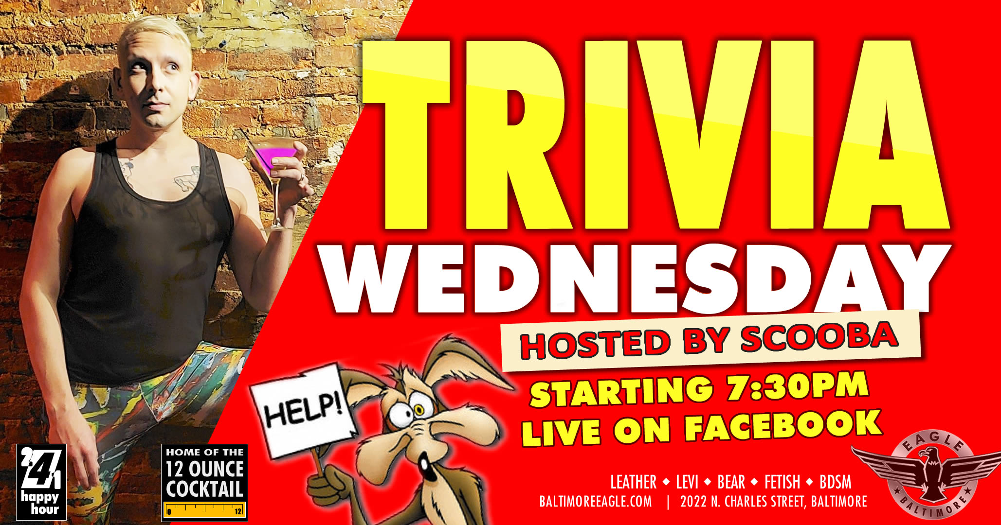 Trivia hosted by SCOOBA